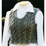 Lisa Ellis Designs AS-12 Unisex Cable Vest PDF