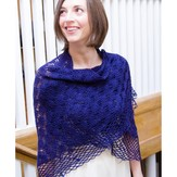 Valley Yarns WEBS Emerging Designer #03 Pear Trellis Shawl PDF