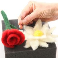 Needle Felting - Flowers