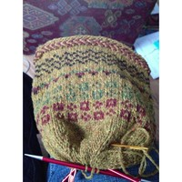 Fair Isle Hat with Susan B. Anderson*