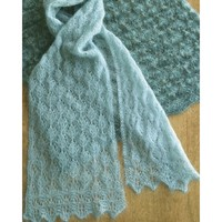 AC73X Cocoon Lace Scarf & Wrap
