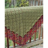 Fiber Trends S-2010 Leaf Lace Shawl