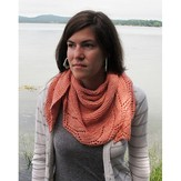 The Fibre Company Schieffelin Point Shawl (Free)
