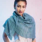 The Fibre Company + Kelbourne Woolens Vesa Shawl - The Pathway Collection PDF