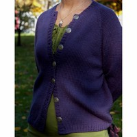 F13 Fundamental Top Down Women's Cardigan PDF