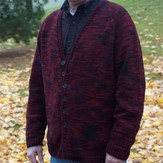 Figheadh Yarnworks F14 Fundamental Top Down Men's Cardigan PDF