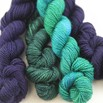 Blue Ridge Yarns Footlights - Bluelagoon