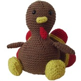 FreshStitches Alvin the Turkey
