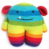 FreshStitches Roy the Rainbow Monster PDF