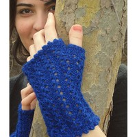 Veronica's Fingerless Mitts PDF