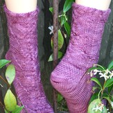 Gardiner Yarn Works Butterfly Garden Socks PDF