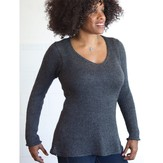 Classic Elite Yarns 9225 Long Sleeve Pullover PDF