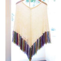 9226 Fringed Poncho, Tattooed PDF