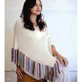 Classic Elite Yarns 9226 Fringed Poncho, Tattooed PDF
