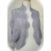 HeartStrings Hug-Me-Tight Fan Lace Jacket Wrap PDF