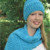 Hooked for Life Cushy Hat and Scarf Set PDF