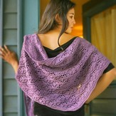 Imperial Yarn Rhombus Feather Shawl PDF