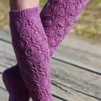 Snowflake Lace Knee High PDF
