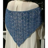 Bad Cat Designs Hydrangea Shawl