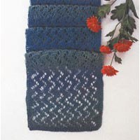 Teal Forest Scarf