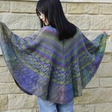 Jojoland Dragon Melody Shawl PDF