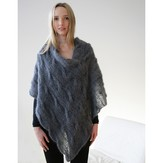 Jo Sharp Cable Mohair Poncho PDF