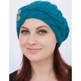Juniper Moon Farm Cabled Cloche Hat - The Dales Collection