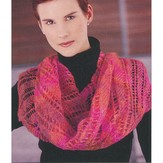 Knit One Crochet Too 1820 Diagonally Yours Scarf
