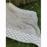Knit One Crochet Too 1878 Gingham Baby Blanket