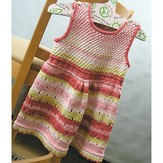 Knit One Crochet Too 2010 Child's Watermelon Dress