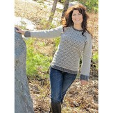 Knit One Crochet Too 2240 Gray Matter Pullover