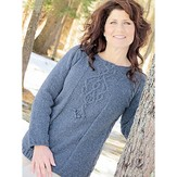 Knit One Crochet Too 2248 Celtic Jewel Pullover