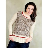 Knit One Crochet Too 2266 Monkey Business Pullover