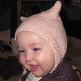 Kate Atherley Heirloom Baby Bonnet - With Ears PDF