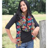 Knitting Fever Broadway Scarf (Free)