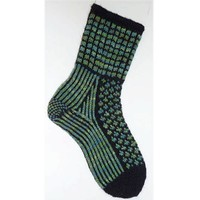 Earth at Night Socks (Free Pattern)