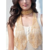 S.Charles Collezione Elsa Lace Scarf Kit