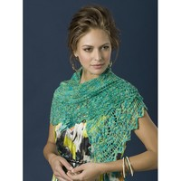 Trailing Vines Shawl Kit