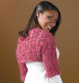 Trendsetter Yarns Convertible Shrug (Free Pattern)