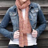 Valley Yarns 223 Lacy Brioche Scarf Kit (Free Pattern)
