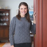 Valley Yarns 356 Window Top-Down Pullover