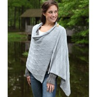 398 Beveled Silver Scarf and Wrap Kit