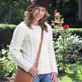 Valley Yarns 421 Pearl Street Cabled Pullover Kit