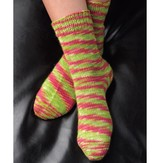 Valley Yarns B4 Basic Toe-Up Socks Kit