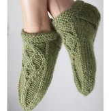 Kolláge Yarns 3755 Hearthside Slipper Socks