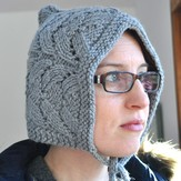 Knitting School Dropout Grown-up Lace Bonnet PDF