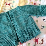 Knitting School Dropout Everybaby Cardigan PDF