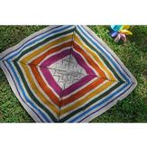 Knitting School Dropout Sunshower Baby Blanket PDF