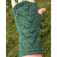 'Fountain' Fingerless Mitts (Free)