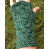 Elsebeth Lavold 'Fountain' Fingerless Mitts (Free)